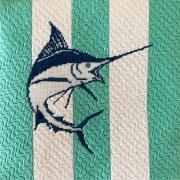 Needlepoint Land-Sailfish
