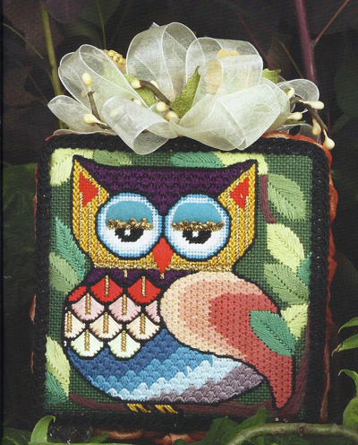 Patchwork Owl by JP Needlepoint