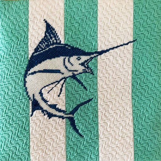 Needlepoint Land-Sailfish