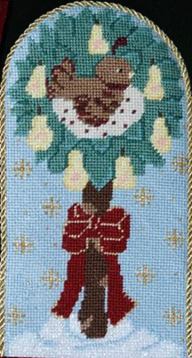 Tree Skirt - Partridge in a Pear Tree