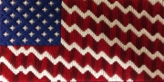 Fancy stitches - American Flag