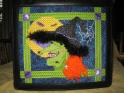 Witch on the Town by Sandy Arthur - stitched by Gone Stitching