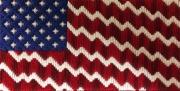 Fancy stitches - American Flag