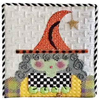 """The """"Crazy Witch"""" canvas by Mile High Princess"""