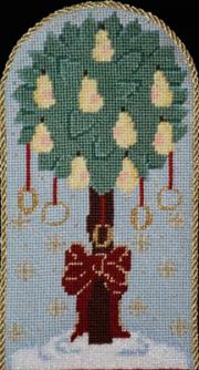 Tree Skirt - Five Golden Rings