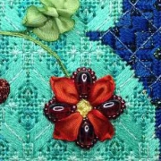 Ribbon Flower by Amy Bunger
