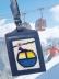 Skiing Luggage Tag