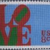 Unique Designs Love Stamp  - 70361 15x12 on 10 mesh